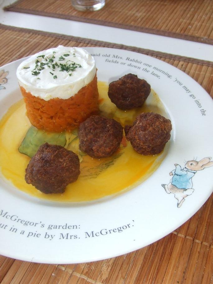 Les boulettes du boeuf et sa carotte suisse
